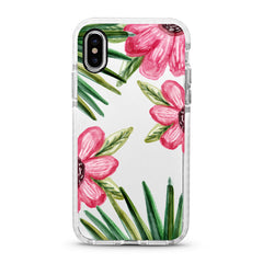 iPhone Ultra-Aseismic Case - Big Hand Drawn Flowers