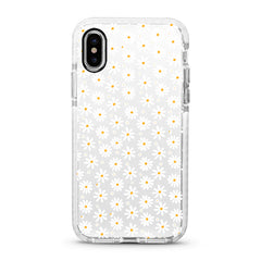 iPhone Ultra-Aseismic Case - WHITE DAISY 2