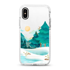iPhone Ultra-Aseismic Case - Snow Forest