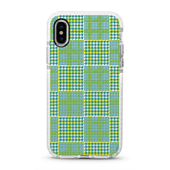 iPhone Ultra-Aseismic Case - Green Illusion