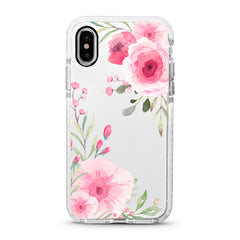 iPhone Ultra-Aseismic Case - Big Pink Flowers