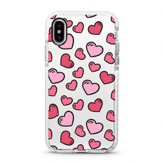 iPhone Ultra-Aseismic Case - Hearts and Hearts