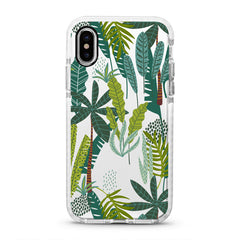 iPhone Ultra-Aseismic Case - Jungle Plants