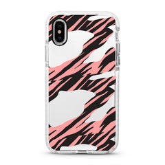 iPhone Ultra-Aseismic Case - Pink Animal Print