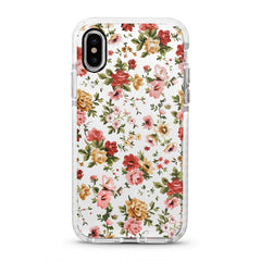 iPhone Ultra-Aseismic Case - Vintage Floral