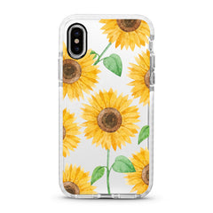 iPhone Ultra-Aseismic Case - Happy Yellow Sunflowers