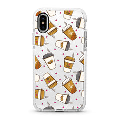iPhone Ultra-Aseismic Case - I Love Coffee