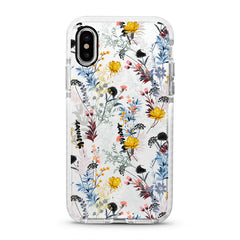 iPhone Ultra-Aseismic Case - Wild Flower with Color Floral