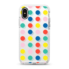 iPhone Ultra-Aseismic Case - Festive Dots
