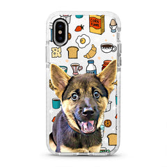 iPhone Ultra-Aseismic Case - Breakfast