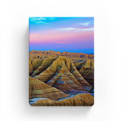Canvas Print - badlands