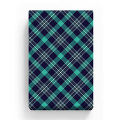 Canvas Print - Green Check Pattern