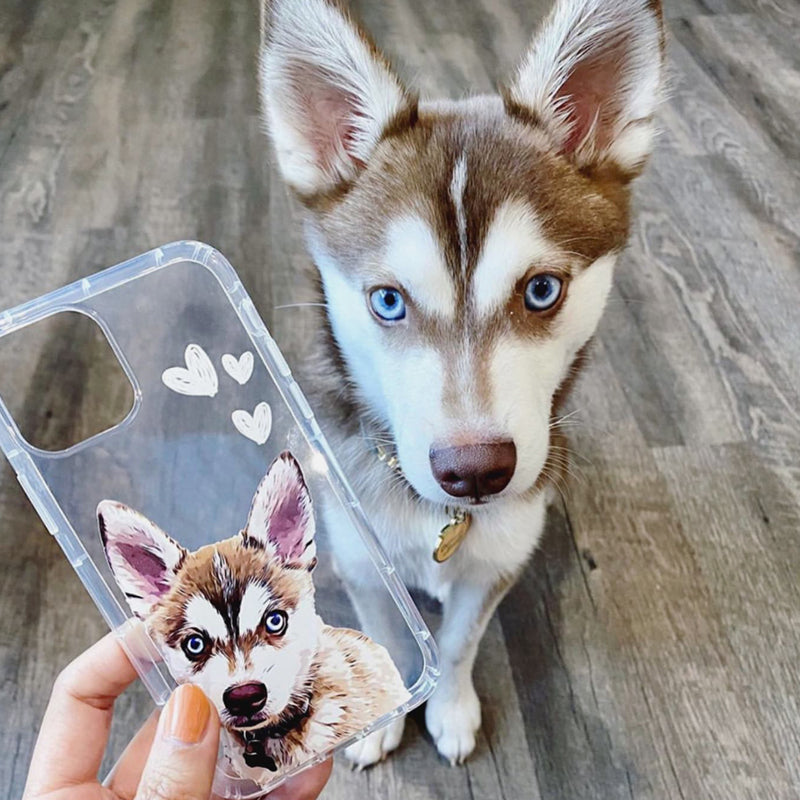 Custom iPhone Aseismic Case - Pets United Plus