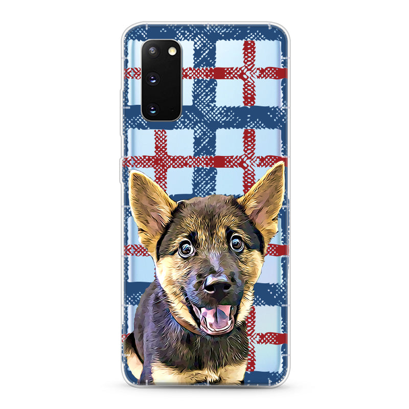 Samsung Aseismic Case - England Checked