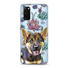 Samsung Aseismic Case - Succulents