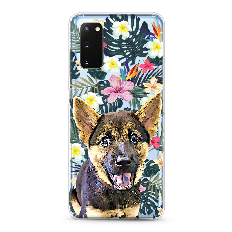 Samsung Aseismic Case - Hawaii Floral