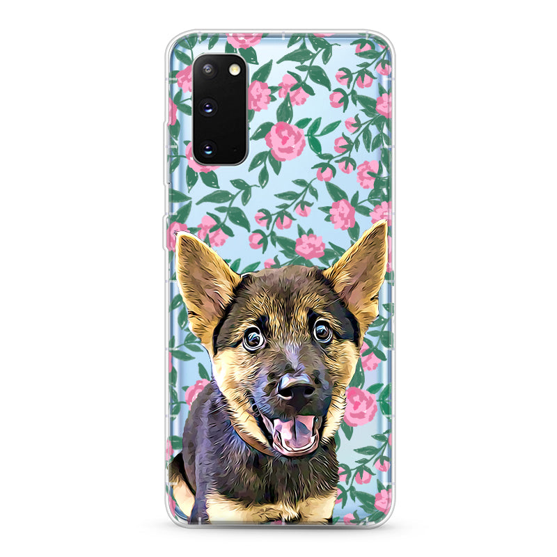 Samsung Aseismic Case - Rose Garden