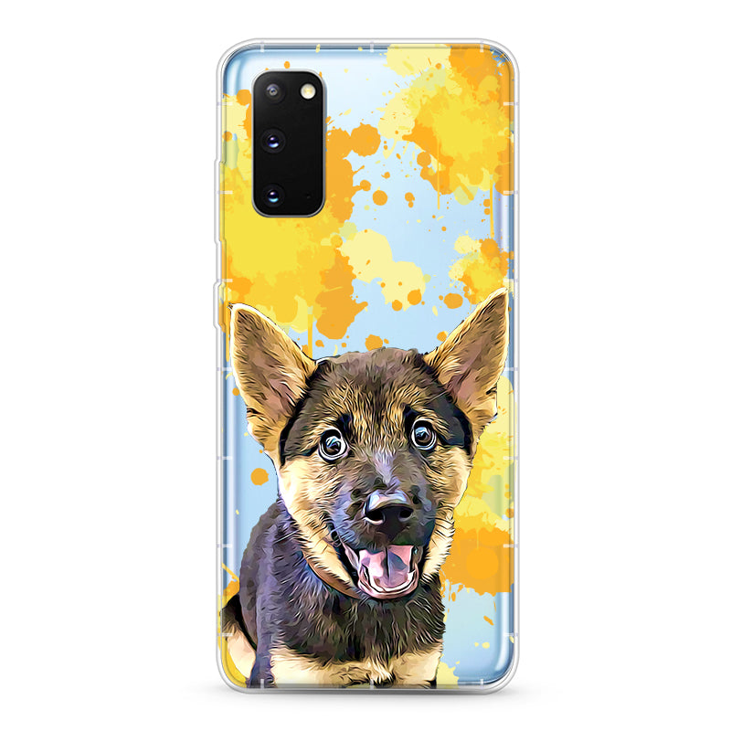 Samsung Aseismic Case - Golden Splash 2
