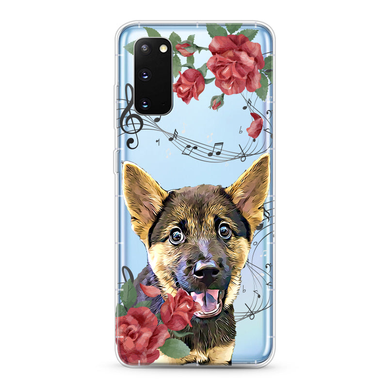 Samsung Aseismic Case - Musical Floral