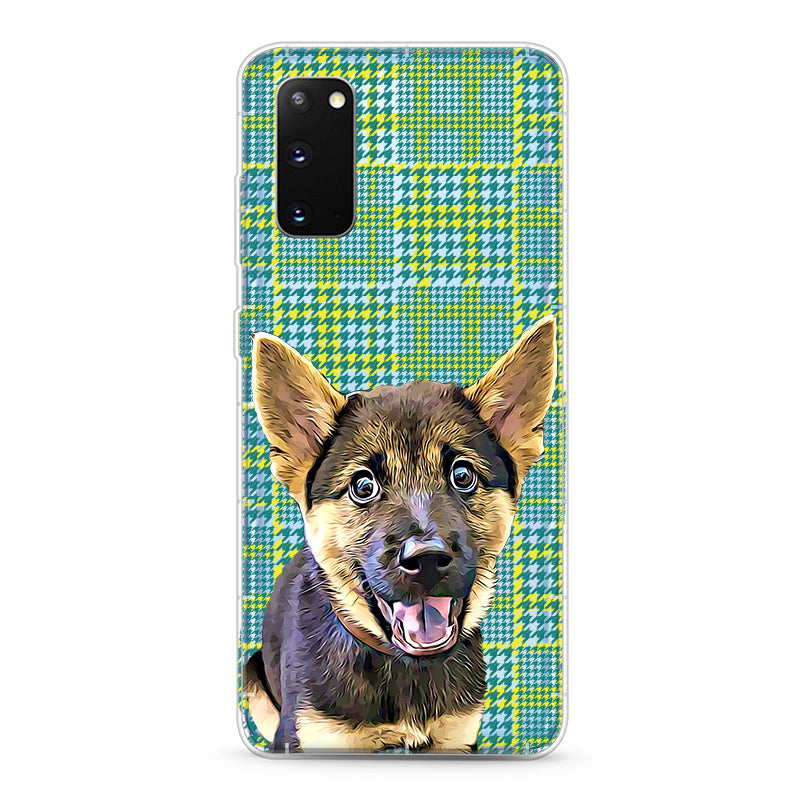 Samsung Aseismic Case - Green Illusion