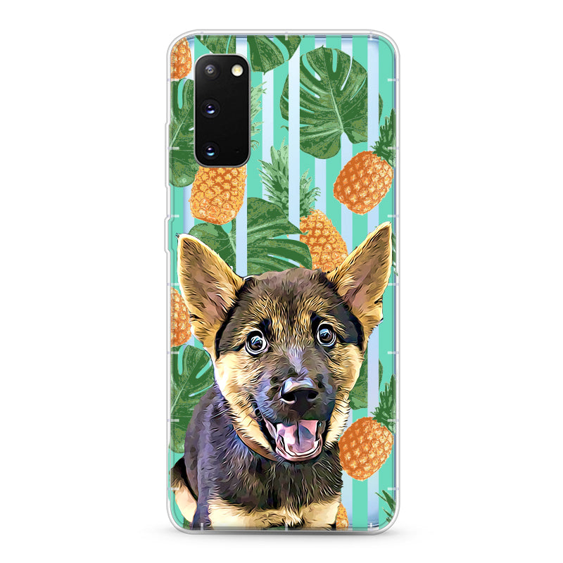 Samsung Aseismic Case - Pineapple Tropical 2