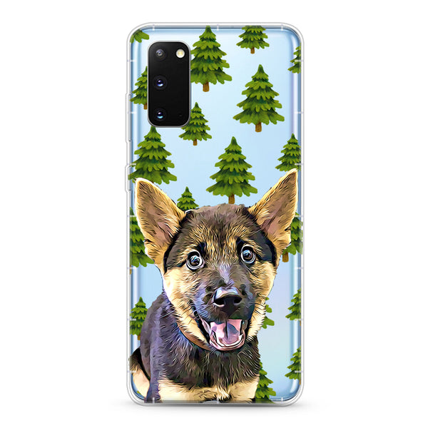 Samsung Aseismic Case - Pine Trees