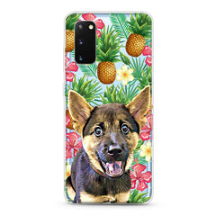 Samsung Aseismic Case - Pineapple Tropical