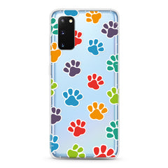 Samsung Aseismic Case - Rainbow Paws