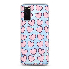 Samsung Aseismic Case - Pink Hearts 2
