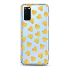 Samsung Aseismic Case - Gold Hearts