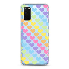 Samsung Aseismic Case - Rainbow Hearts
