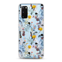 Samsung Aseismic Case - Wild Flower with Color Floral