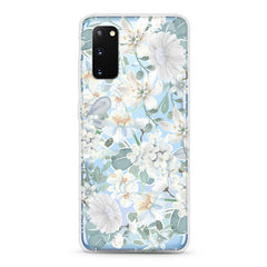Samsung Aseismic Case - White Floral