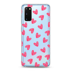 Samsung Aseismic Case - Pretty Hearts Pattern