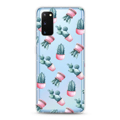 Samsung Aseismic Case - Cactus in Pink Pot
