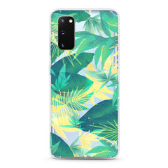 Samsung Aseismic Case - Tropical in Yellow and Green