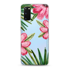 Samsung Aseismic Case - Big Hand Drawn Flowers