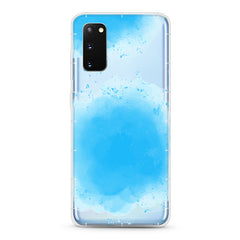 Samsung Aseismic Case - Dope Blue Watercolor