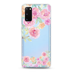 Samsung Aseismic Case - Water Paint Joy Garden