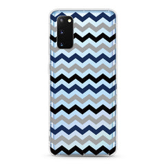 Samsung Aseismic Case - Blue Scandinavian Pattern