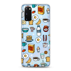 Samsung Aseismic Case - Breakfast