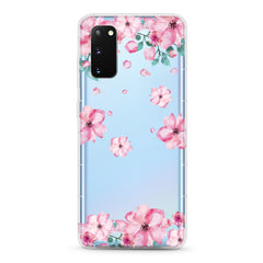 Samsung Aseismic Case - GIrly Pink Flowers