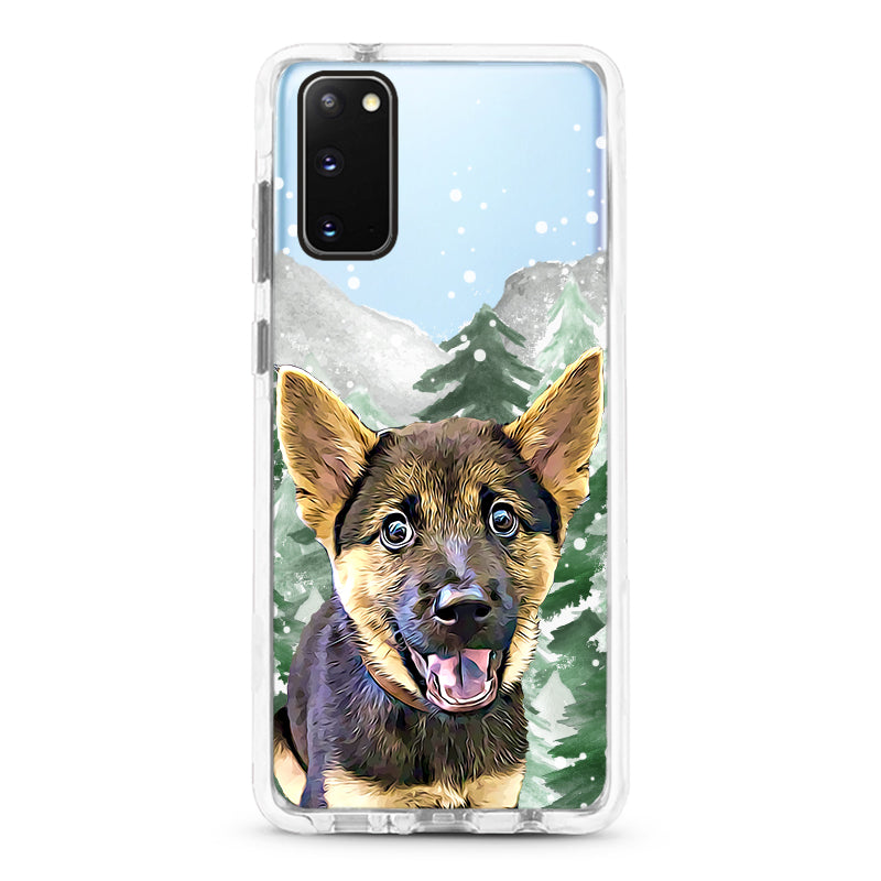 Samsung Ultra-Aseismic Case - Snow Forest 2
