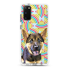 Samsung Ultra-Aseismic Case - Rainbow Geometric