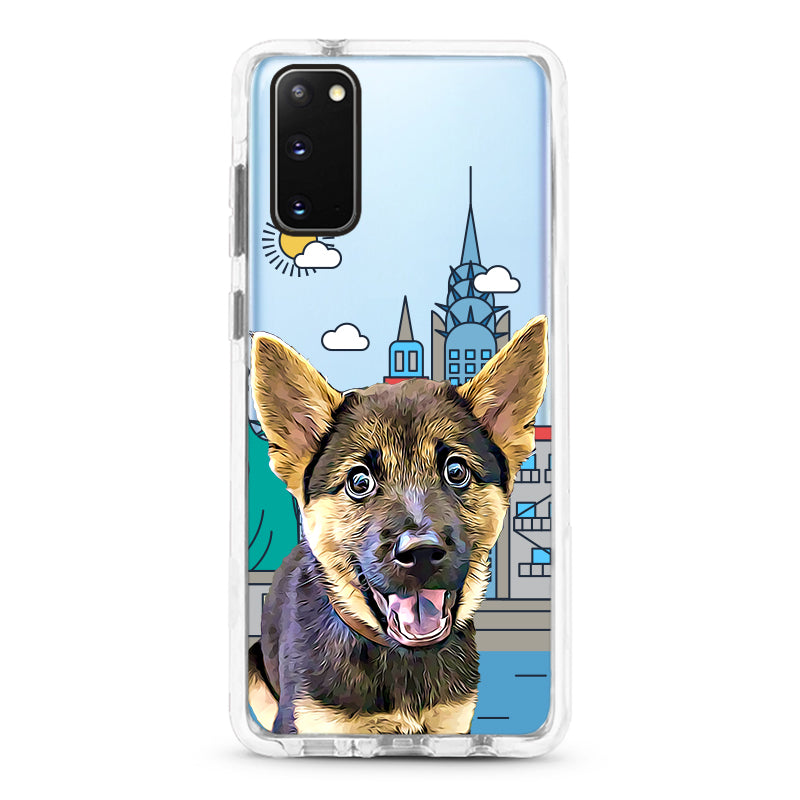 Samsung Ultra-Aseismic Case - Welcome To New York