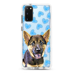 Samsung Ultra-Aseismic Case - My Blue Hearts