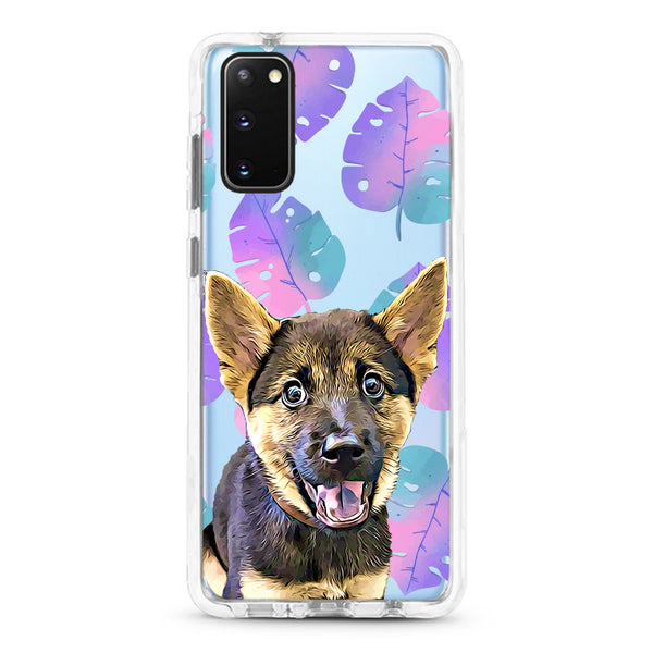 Samsung Ultra-Aseismic Case - Fancy Tropical