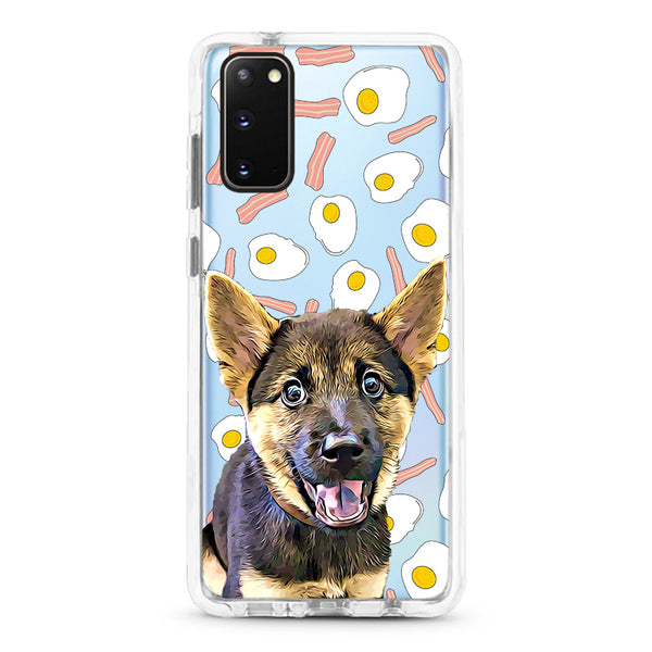 Samsung Ultra-Aseismic Case - Bacon and Eggs