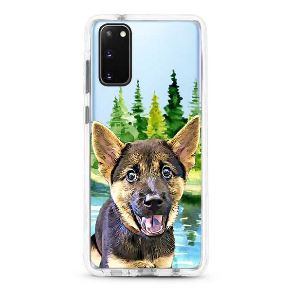 Samsung Ultra-Aseismic Case - Deep Forest 3