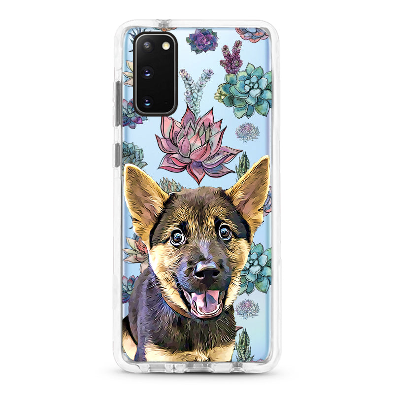 Samsung Ultra-Aseismic Case - Succulents